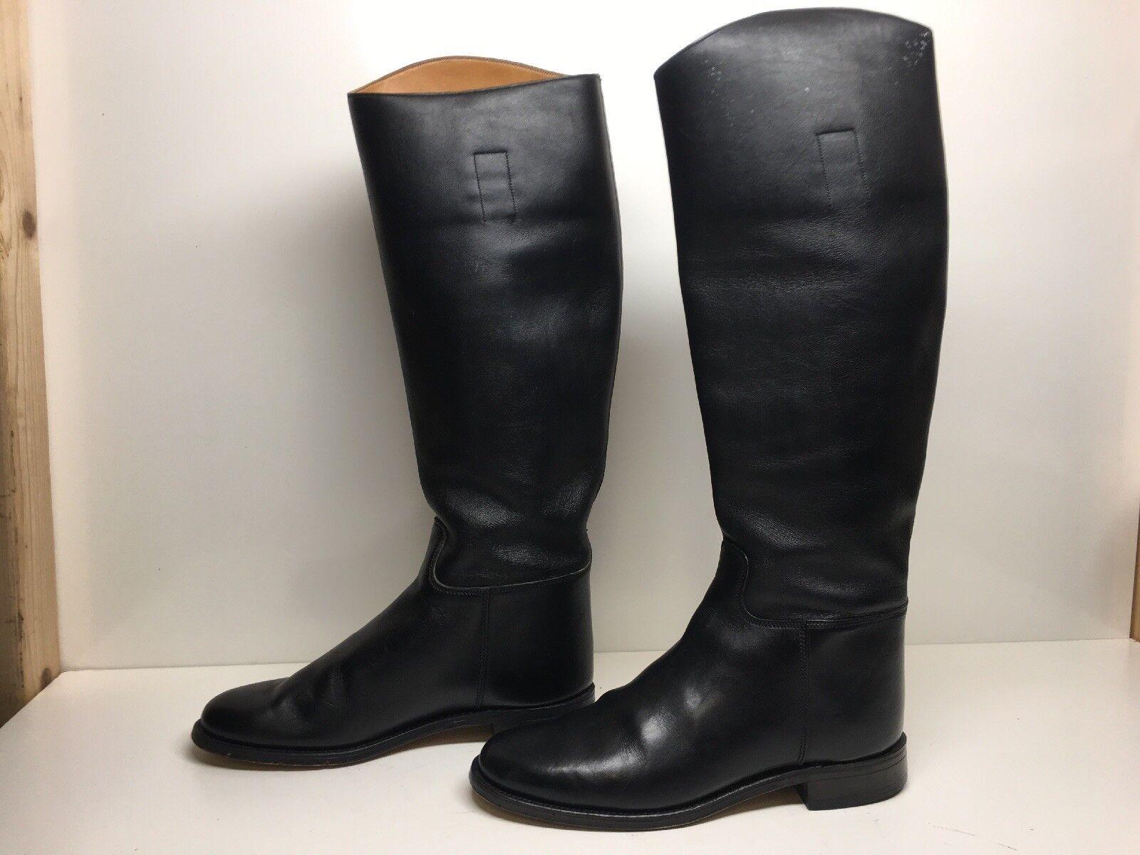 Vintage mujeres Marlborough Marlborough Marlborough Equitación Negro botas Talla 5.5 C  cómodamente