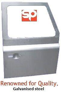 RH FRONT DOOR GALV STEEL DOOR SKIN 90 110 PUSH BUTTON FOR LAND ROVER DEFENDER