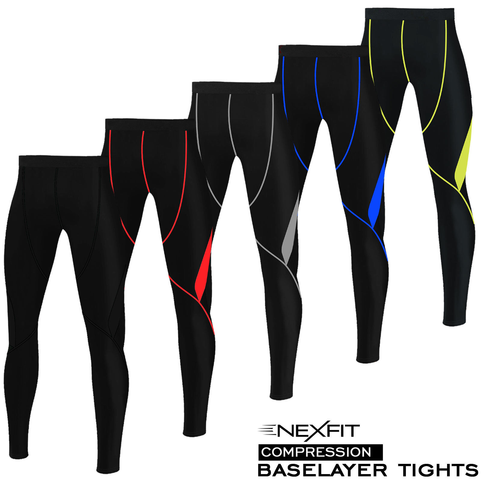 Mens Compression Yoga Tights Base Layer Trousers Running Body Armour Gym Pant