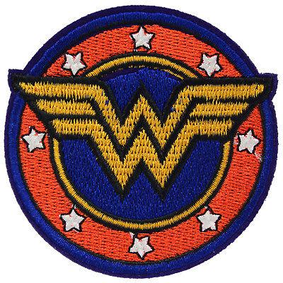 Wonder Women Logo Iron On Patch Movie Film Cosplay Super Hero Sew Costume Comic