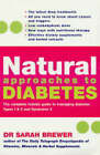 Natural Approaches to Diabetes by Dr. Sarah Brewer (Paperback, 2005)