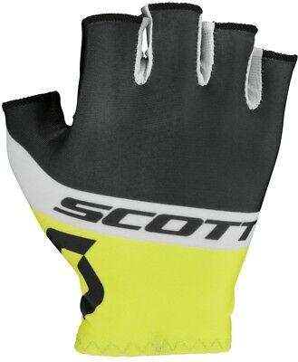 Yellow Scott RC Pro Fingerless Cycling Gloves