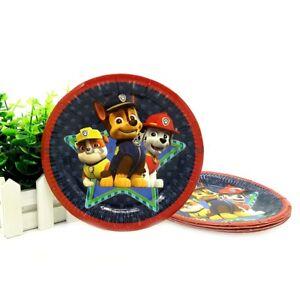 7-6-pieces-papier-Assiette-Pat-039-Patrouille-Fete-Enfants