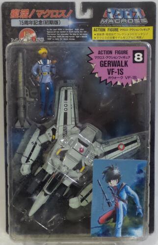 Macross Numéro 8 Gerwalk modèle VF-1S /& Figure faite par ARII