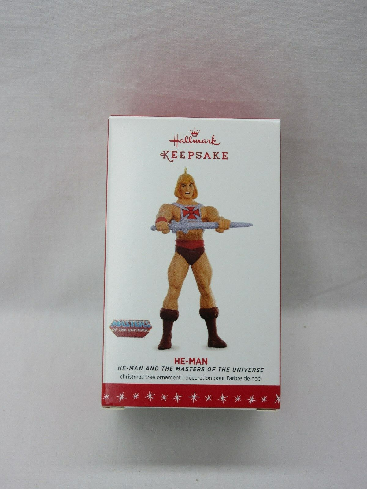 MOTU,HE-MAN ORNAMENT,HALLMARK KEEPSAKE,MINT,Masters of the Universe,He Man