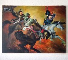 "Expressionist Öl Leinwand ""Legende"" 80x60 cm"