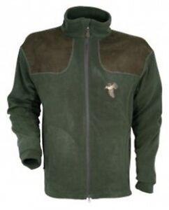 Percussion-Woodcock-Embroidered-Fleece-Green-Shooting-Jacket