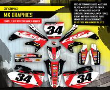 2008 HONDA CRF 450 R DIRT BIKE GRAPHICS KIT CRF450R MOTOCROSS  MX DECALS