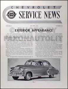 1949 1950 Chevrolet Entretien Voiture News Manuelle Neuf Fonctionnalités 49 50 3axoqwpy-07232947-644279691