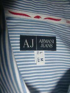 Neu Armani Jeans amp; Hemd L herren 40 Wie Gr 8afq17wx8