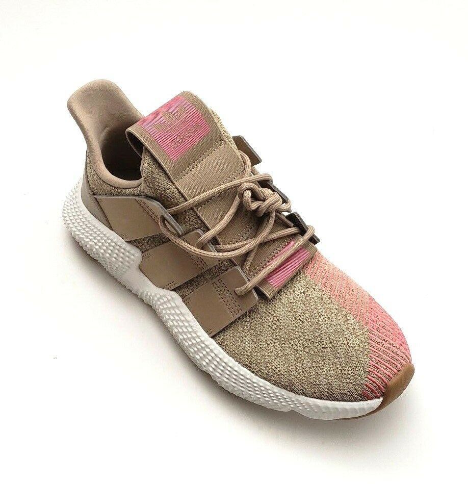 Adidas Men's CQ22128 Originals Prophere Khaki Pink White shoes Assorted Sizes