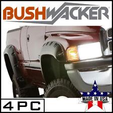 Bushwacker 4pc Pocket Style Fender Flares Fit 2002 2009 Dodge Ram 1500 2500 3500 Fits 2004 Dodge Ram 1500
