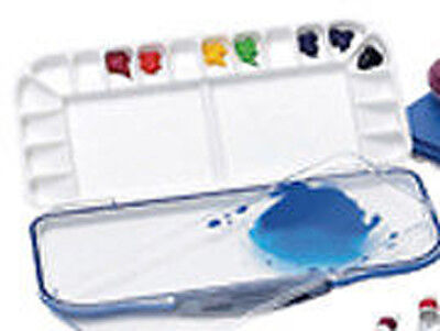 3018 Mijello Fusion 18 Folding Watercolour Palette