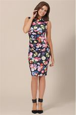 BNWT Jessica Wright Roxanne Rosie Floral Stretch Evening Occasion Dress Size 16