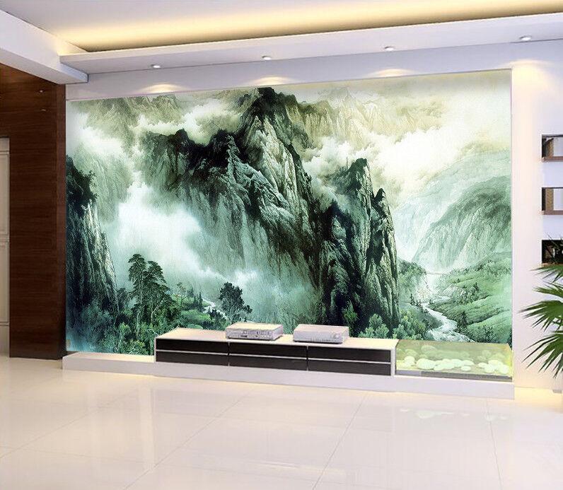 3D Hills Stone 5 Wallpaper Murals Wall Print Wallpaper Mural AJ WALL AU Kyra