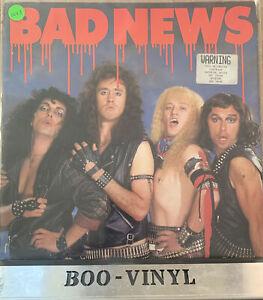 Bad News - Bad News Gatefold Vinyl LP UK EMC 3535 Original Ex / Ex Con