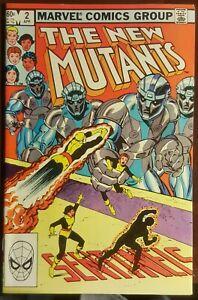 New Mutants #2 (1983) FINE Marvel Key Issue Comic Book Cooper Age Sentinels