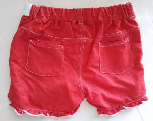 Nannette Girl/'s Top /& Shorts Set Red//White//Blue Size 6