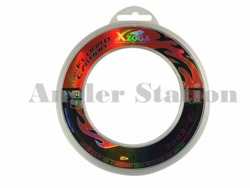 Xzoga 80lb//20m 100/% Fluorocarbon Invisible Fishing Leader Line