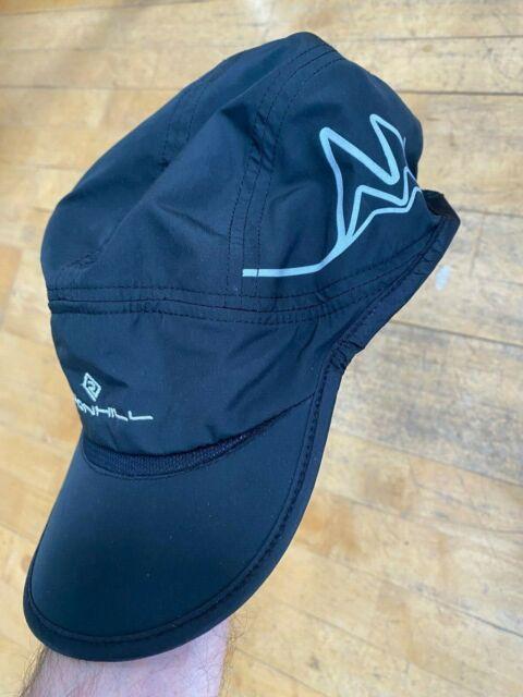 Ronhill Trail Lightweight Running Jogging Cap Black//Cobalt *NEW*
