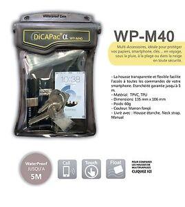 Housse-etanche-Multi-usage-DiCAPac-WP-M40-Etanche-5m-Certifie-IPX8