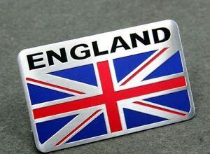 ENG England Flag Sticker Auto Brand Aluminum Emblem 3D Logo Badge Decal Car