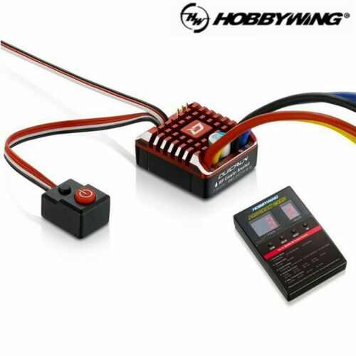 Hobbywing QuicRun 1080 Brushed Waterproof 80A ESC Speed Controller RC Crawler
