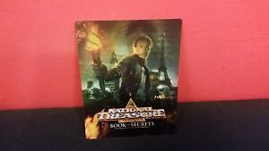 NATIONAL TREASURE 2 Book of Secrets Lenticular Magnet Cover for BLURAY STEELBOOK