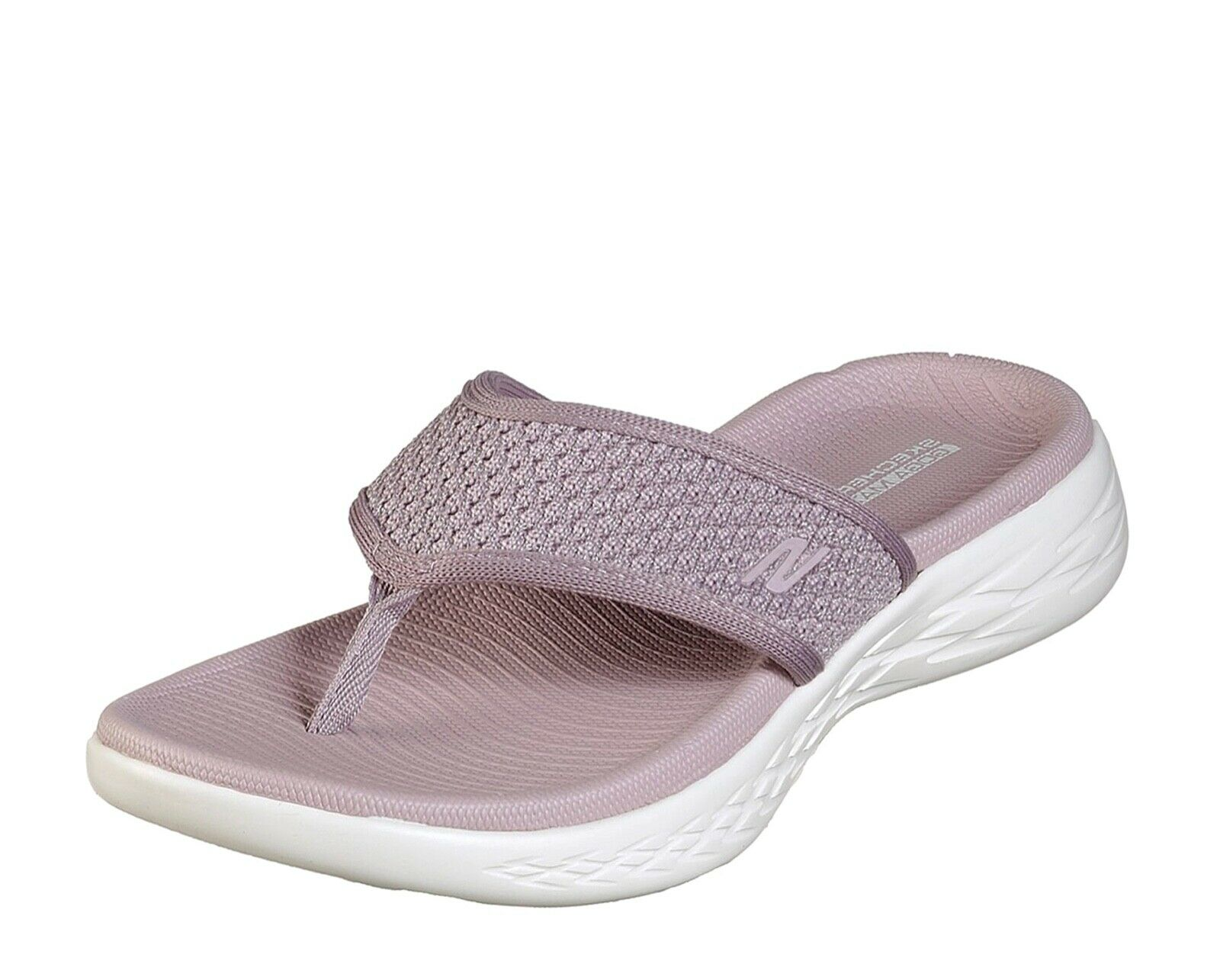 Skechers New on the go 600 BRILLANT violets Confort Sandales Tongs Tailles UK 3-9
