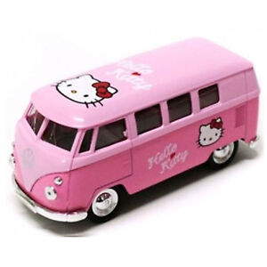 image is loading hello kitty classic mini bus toy figure for