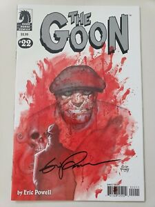 THE-GOON-22-2008-DARK-HORSE-COMICS-AUTOGRAPHED-by-ERIC-POWELL-with-COA