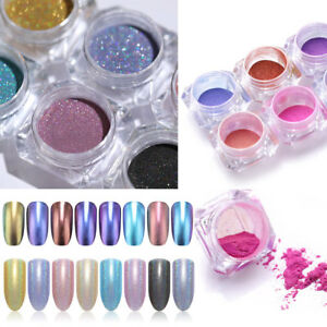 Nail-Art-Chameleon-Holographic-Powder-Glitter-Chrome-Dust-Nail-Paillettes-DIY-1g