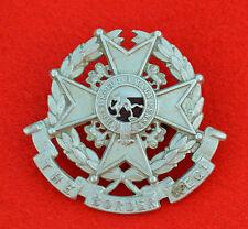 British Army. Border Regiment Militia Btn Genuine Field Service Cap Badge
