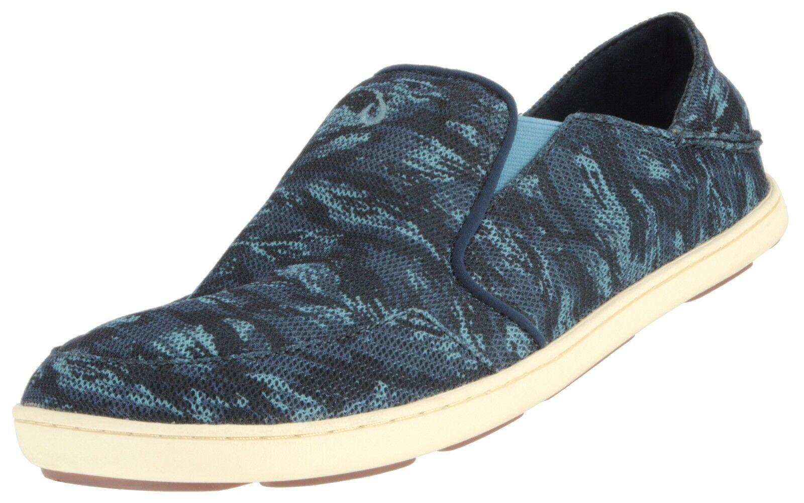 OLUKAI SAMPLE MESH 10188 MEN'S NOHEA  MESH SAMPLE SLIP ON SNEAKER Schuhe SLIDES  US 10 EU 43 0ce40f