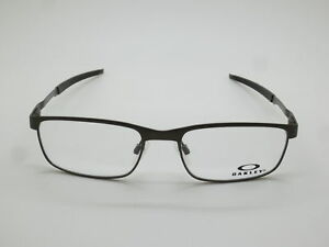 ee54c1779e NEW Authentic OAKLEY STEEL PLATE OX3222-0452 Powder Pewter 52mm Rx ...