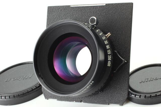 【 MINT 】Nikon NIKKOR W 180mm f/5.6 Lens Copal 1 Shutter w/ 4x5 Board from JAPAN