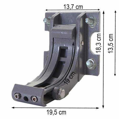 gris 2x Adaptateur pour store t122 Support Mural Montage mural t123