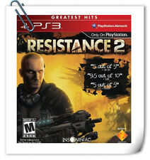 PS3 Resistance 2 SONY PLAYSTATION SCE Action Games