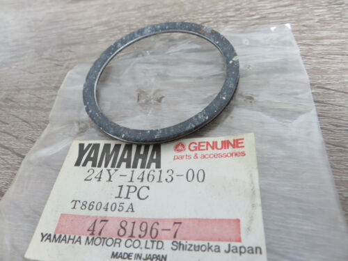 Yamaha coudes Joint yz250 Exhaust Pipe Gasket ORIGINAL NEUF