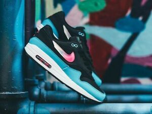 Details about Nike Air Max 1 City Brights Men's Shoes Lifestyle Comfy Sneakers Laser Fuchsia