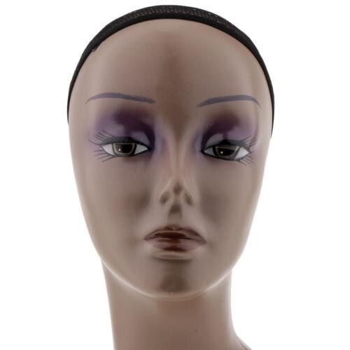 Dekokopf Perückenkopf Büste Weiblich Mannequin Schaufensterpuppe Kopf