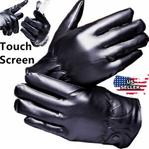 Men-Women-Winter-Gloves-Touch-Screen-Windproof-Waterproof-Leather-Thick-Snow-USA