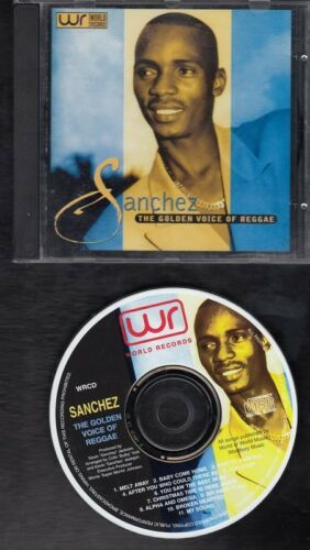 1 of 1 - SANCHEZ The Golden Voice Of Reggae CD WORLD RECORDS 1997 ##