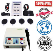 Professional Use Combo Original Ultrasound 1mhz Therapy Amp 2 Channel Therapy Unit