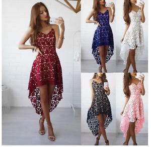WA-034-Women-Lace-Dress-Bridesmaid-Wedding-Party-Cocktail-Mini-Sling-Dress