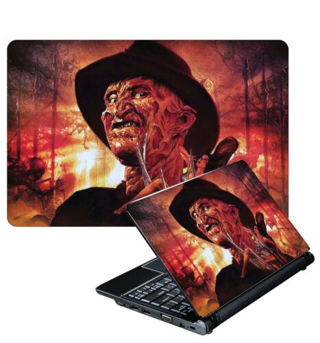 Laptop Adesivo Freddy Krueger Nightmare on Elm Street Horror Pelle Varie Dimensioni