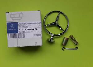 For Mercedes W114 280 280C W115 230 240D 300D Emblem Hood Star Kit 1155860488