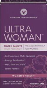 Ultra Woman Premium Multi-Vitamin Formula - 90 Time Release Caplets