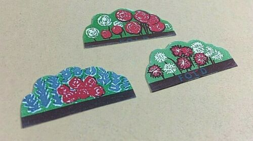 repro/'s trimmed for use! #1621 Motel Flower inserts Plasticville O g