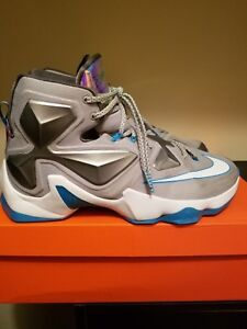a8c3465e329 Nike Lebron 13 Blue Lagoon Size 12 only worn 3 times look brand new ...